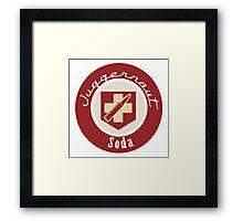 Juggernaut Soda Framed Print