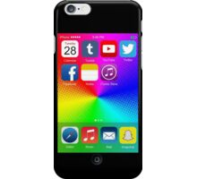 The All New iPhone - with colored background iPhone Case/Skin