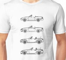 MX-5 Miata Evolution Unisex T-Shirt