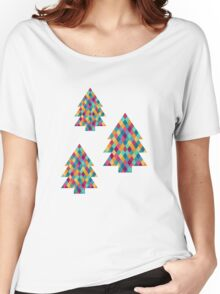 Colored Diamonds Women's Relaxed Fit T-Shirt