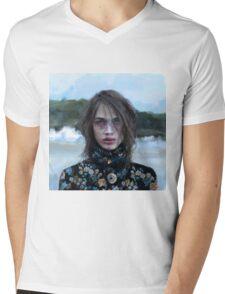 Crista Mens V-Neck T-Shirt