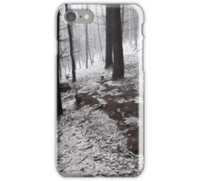 Dark Woods. Series In Mysterious Woods iPhone Case/Skin