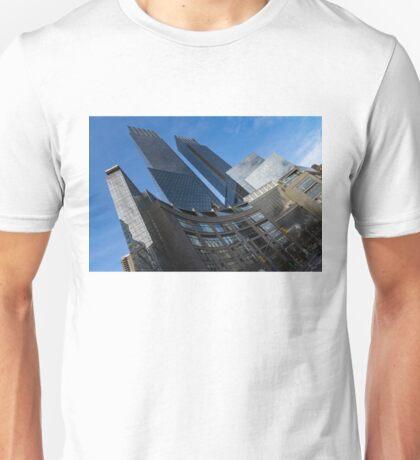 Hugging Columbus Circle - the Elegant Curvature of Time Warner Center Buildings Unisex T-Shirt