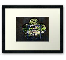 Brodick Castle Walled Garden. Isle of Arran, Scotland. Framed Print