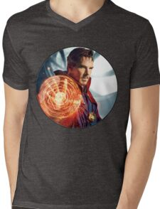 Strange, Doctor Strange. Mens V-Neck T-Shirt