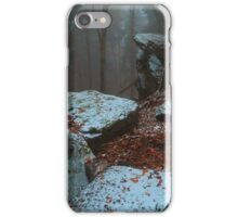 Gothic Rocks. In Mysterious Woods iPhone Case/Skin