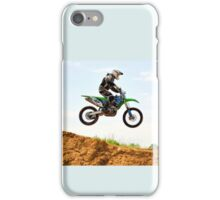 Cool jump on a meeting to a victory! iPhone Case/Skin