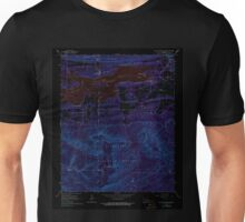 USGS TOPO Map Arkansas AR Blue Mountain Dam 258006 1966 24000 Inverted Unisex T-Shirt