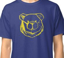 Robust Bear Logo Yellow Classic T-Shirt