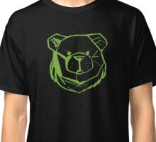 Robust Bear Logo Green Classic T-Shirt