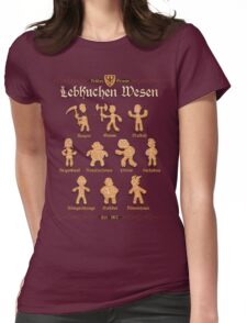Grimm Gingerbread Womens Fitted T-Shirt