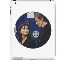 The Doctor and Clara. iPad Case/Skin