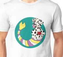 Dexter the Dalmatian Mermutt Unisex T-Shirt