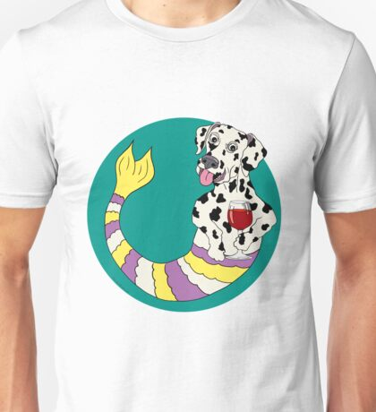 Dexter the Dalmatian Mermutt Unisex T-Shirt