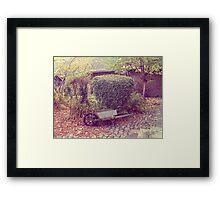 Old wheelbarrow Framed Print