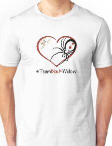 Team Black Widow - Lactrodectus in love  Unisex T-Shirt