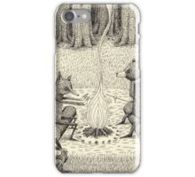 Camp Fire iPhone Case/Skin