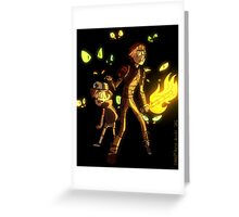 Hiccup and Dipper Greeting Card