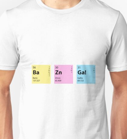Bazinga - Big Bang Theory Unisex T-Shirt
