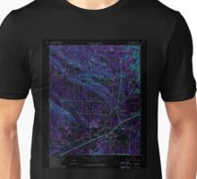 USGS TOPO Map Arkansas AR Alexander 257853 1986 24000 Inverted Unisex T-Shirt