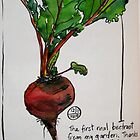 beetroot from the garden by Evelyn Bach