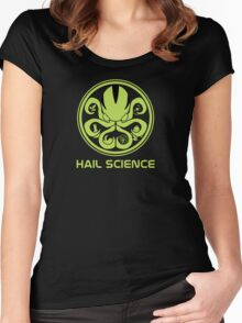 Hail Science! Women's Fitted Scoop T-Shirt
