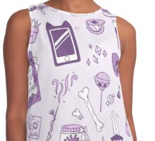 Witchy Things Contrast Tank