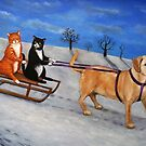 Sleigh Drivers by Victoria Stanway
