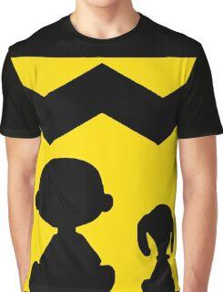SNOOPY CHARLIE BROWN PEANUTS MATA 5 Graphic T-Shirt