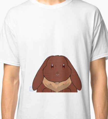 Lop eared rabbit - brown Classic T-Shirt