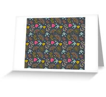 Dark Pond Duvet Greeting Card