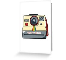 Witwicky's Polaroid Greeting Card