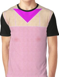Fishnets Stockings Hot Pink with Knickers Graphic T-Shirt
