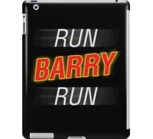 Run Barry Run! iPad Case/Skin