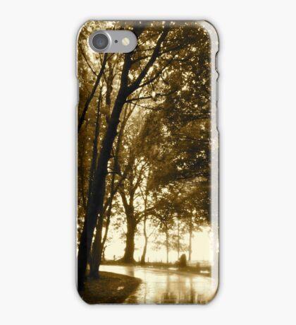 Light in the Distance - Castle Marter, Ireland iPhone Case/Skin