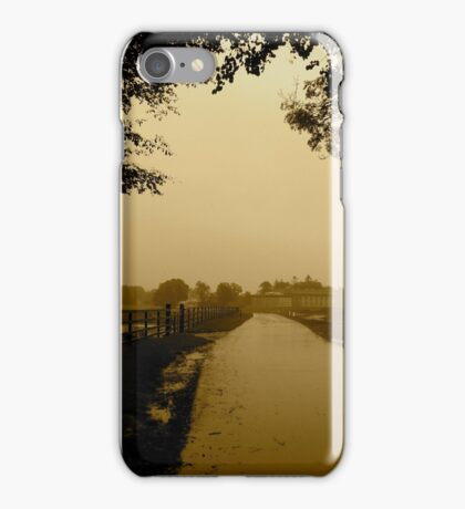 The Walk Home - Castle Marter, Ireland iPhone Case/Skin