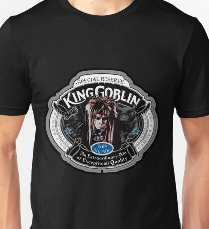 The Labyrinth Goblin King T shirt - King Goblin Ale Unisex T-Shirt