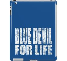 Blue Devil for Life iPad Case/Skin