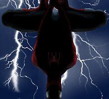 Dangling spider by gaia94dariol