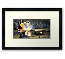 Sabre of Democracy Framed Print