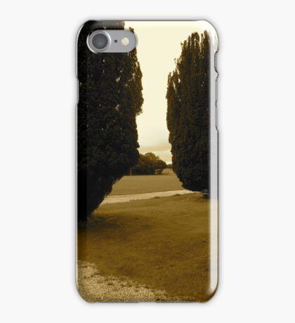 Trees -Castle Marter, Ireland iPhone Case/Skin