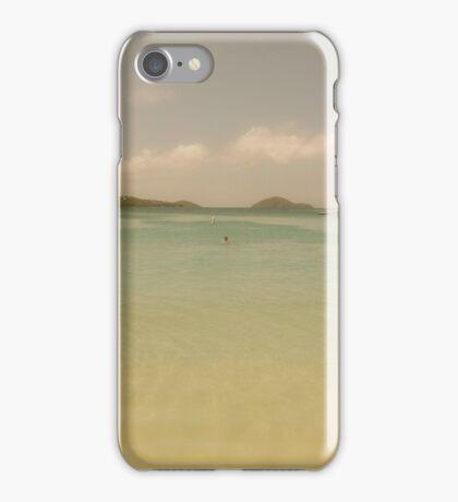 Bay, Eastern Caribbean iPhone Case/Skin