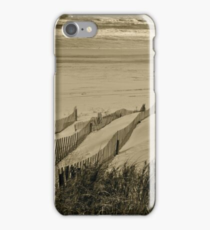 Dunes and Fences - Outer banks,Carolinas iPhone Case/Skin