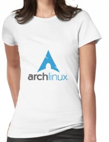 Archlinux Logo Womens Fitted T-Shirt