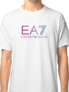 Emporio Armani EA7 - Blue violet Color Classic T-Shirt