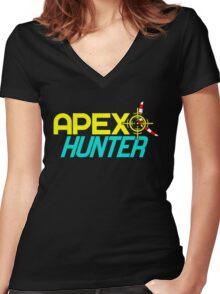 APEX HUNTER (7) Women's Fitted V-Neck T-Shirt