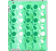 Layered Floral Silhouette Print (7 of 8 please see notes) iPad Case/Skin