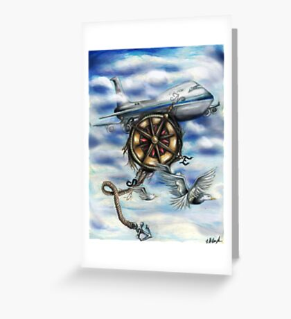 Open Sky Greeting Card