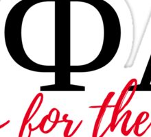 Sigma Phi Lambda - Sisters for the Lord Sticker