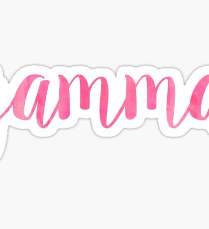 gamma pink~~~~~~~~ Sticker